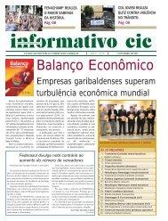 INFORMATIVO PARA O SITE.p65 - CIC Garibaldi