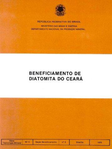 download (pdf - 5.789kb) - CETEM - Centro de Tecnologia Mineral
