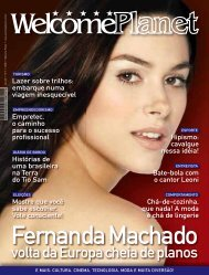 Formato PDF - Welcome Planet