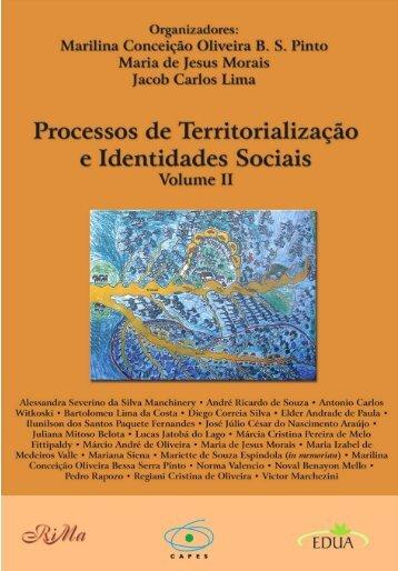processos de territorialização e identidades sociais - UFSCar