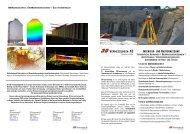 INGENIEUR - UND BAUVERMESSUNG - 3D Vermessungen AG