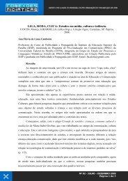 LIGA, RODA, CLICA - CCHLA - Universidade Federal da Paraíba