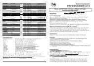 Informationsblatt 12/13 - Reinach
