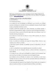 MARINHA DO BRASIL COMANDO DO 7º DISTRITO NAVAL ...
