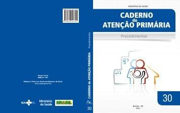 Caderno de Atenção Primária - Procedimentos