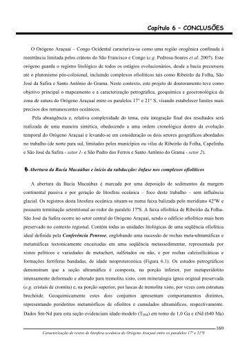 Capitulo 6 - Biblioteca Digital de Teses e Dissertações da UFMG