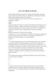 Lei n.º 31/2006 de 21 de Julho - Assembleia da República