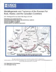 Metallogenesis and Tectonics of the Russian Far East, Alaska, and ...