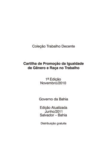 Download - SETRE - Governo da Bahia