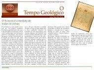 O Tempo Geológico - Geoturismobrasil.com