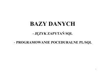 BAZY DANYCH - Fatcat