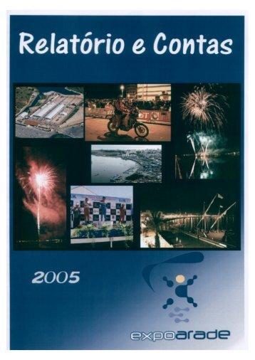 Relatório e Contas de 2005 - Portimão Urbis SGRU