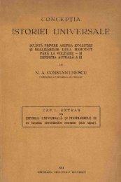 ISTORIE I UNIVERSALE