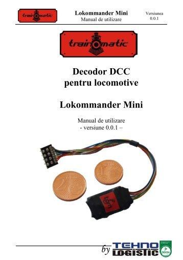 Decodor DCC pentru locomotive Lokommander Mini - HGD