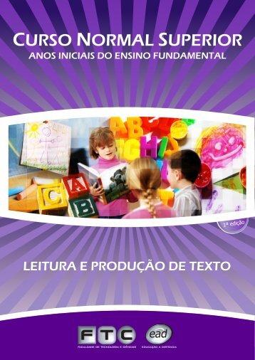 Leitura e Produção de Texto - ftc ead