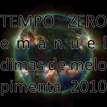 Tempo Zero - Emanuel Pimenta