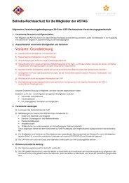 ASTAG Betriebsrechtsschutz 2010 d ... - Glausen + Partner AG