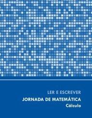 LER E ESCREVER JORNADA DE MATEMÁTICA Cálculo
