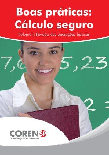 Boas práticas: Cálculo seguro – volume 1 - Ribeirão Preto