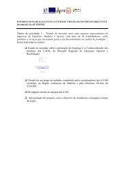 Relatório Final - Secretaria Regional de Educação