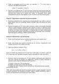 Lista de exercícios: - Page 2