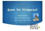 Quem foi Pitágoras?