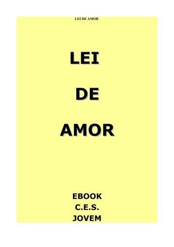 LEI DE AMOR - mensagem espírita - divulgação espiritismo livros ...