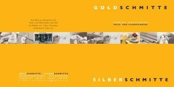 GOLD SCHMITTE SILBER SCHMITTE - WMP Senn GmbH
