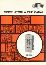 Amtron UK890 - Miscelatori a due canali.pdf - Italy