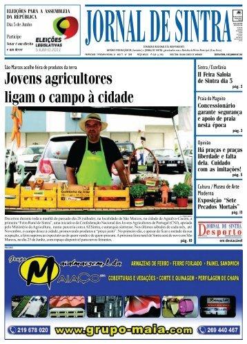 Jovens agricultores ligam o campo à cidade - Jornal de Sintra