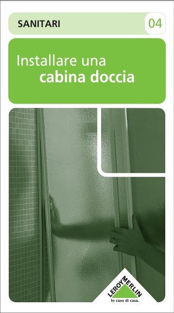 Scheda cabina doccia