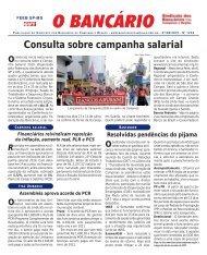 Consulta sobre campanha salarial - Sindicato dos Bancários ...