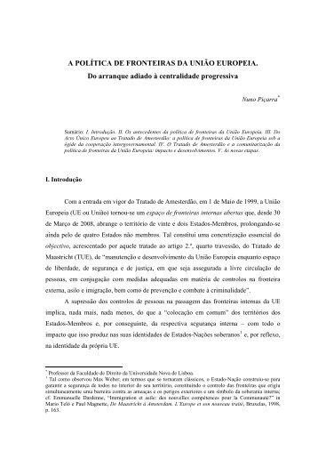 o tratado de roma e as fronteiras dos estados-membros