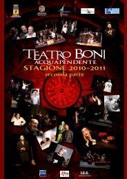 inserto teatro boni.pdf - Comune di Acquapendente