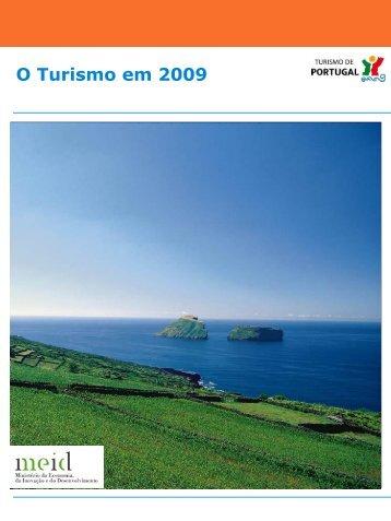 O turismo em 2009 - Turismo de Portugal