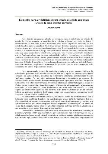 Cidades-Paula Guerra.pdf - Associação Portuguesa de Sociologia