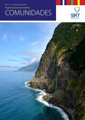 Boletim Comunidades n.º 27 - Madeira no Mundo