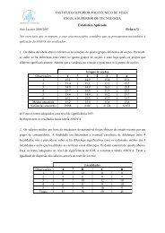 Ficha - Escola Superior de Tecnologia de Viseu