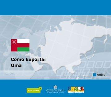 Como Exportar Omã - BrasilGlobalNet