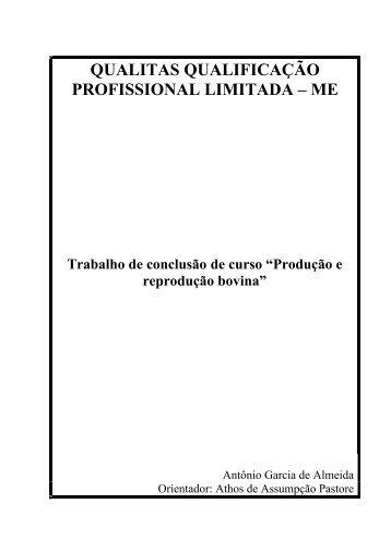 QUALITAS QUALIFICAÇÃO PROFISSIONAL LIMITADA ... - Qualittas