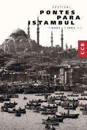 Jornal Pontes para Istambul - Centro Cultural de Belém