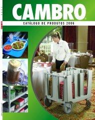 catálogo de productos 2006 - Cambro Manufacturing Company