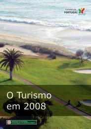 O Turismo em 2008 - Turismo de Portugal