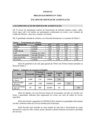 TERMO DE REFERÊNCIA - ANEXO I