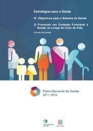 OSS2: Promover um contexto favorável à saúde - Plano Nacional de ...