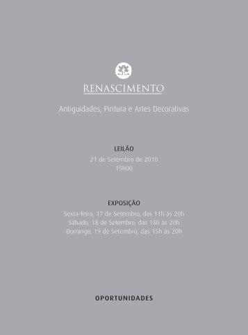catalogo_leilao-035_[21-set-2010] - Renascimento Avaliações e ...
