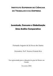 Juventude, Consumo e Globalização Uma Análise Comparativa
