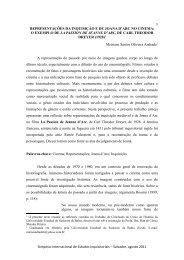 REPRESENTAÇÕES DA INQUISIÇÃO E DE JOANA D'ARC ... - UFRB