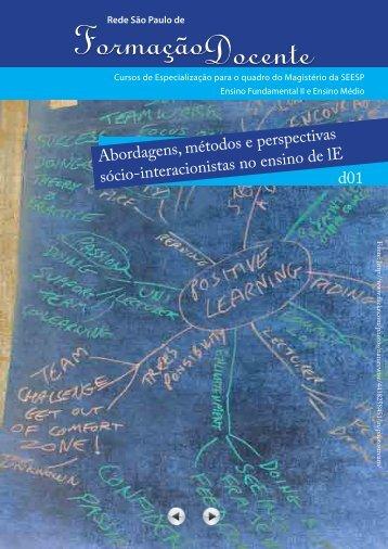 Abordagens, métodos e perspectivas sócio-interacionistas no ...