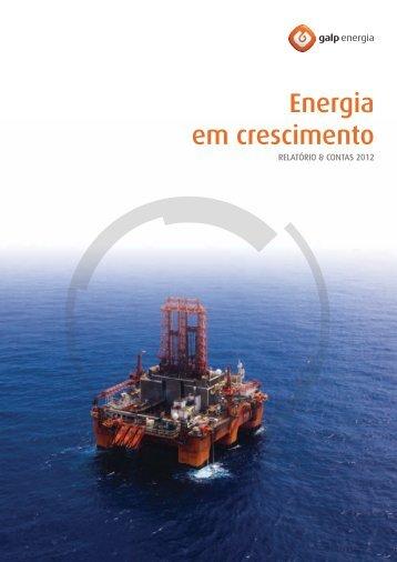 Relatório & Contas 2012 - Galp Energia